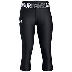 Under Armour Big Girls HeatGear Armour Solid Capris