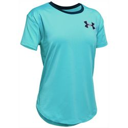 Under Armour Big Girls HeatGear Armour T-Shirt