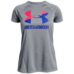 Under Armour Big Girls UA Big Logo T-Shirt