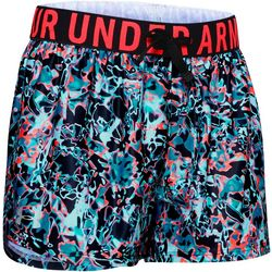 Under Armour Big Girls Abstract Graphic Play Up Shorts