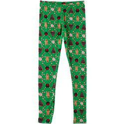 Derek Heart Girl Big Girls Holiday Gingerbread Leggings