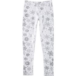 Derek Heart Girl Big Girls Snowflake Leggings