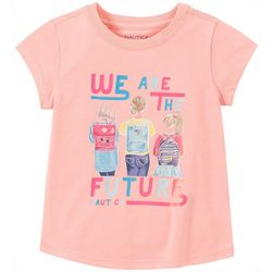 Nautica Big Girls We Are The Future T-Shirt