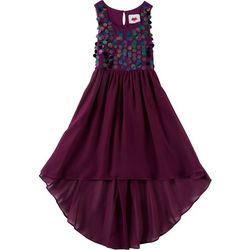 RMLA Big Girls Sequin Accent Dress