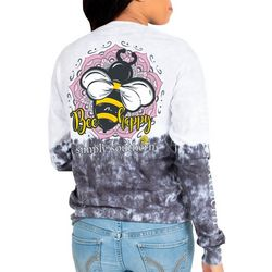 Simply Southern Big Girls Bee Happy Long Sleeve Top