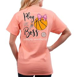 Simply Southern Big Girls Play Like A Boss T-Shirt