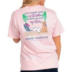 Simply Southern Big Girls Preppy Tide T-Shirt
