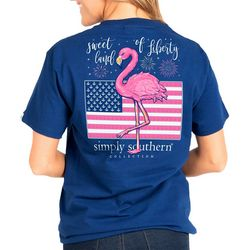 Simply Southern Big Girls Preppy Liberty T-Shirt