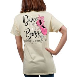 Simply Southern Big Girls Preppy Dance Like A Boss T-Shirt