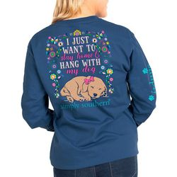 Simply Southern Big Girls I Just Want To Stay Home Top