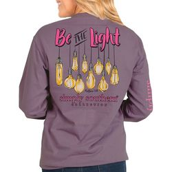 Simply Southern Big Girls Be The Light Long Sleeve Top