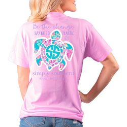 Simply Southern Big Girls Say No To Plastic T-Shirt