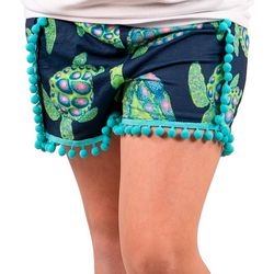 Simply Southern Big Girls Turtle Shorts