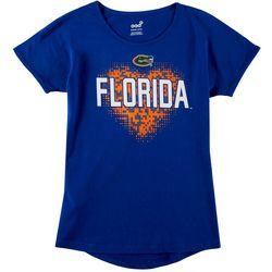 Florida Gators Big Girls Heart T-Shirt by Outerstuff