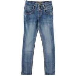 Vigoss Big Girls Triple Stacked Skinny Jeans