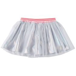 Self Esteem Big Girls Metallic Tulle Skort