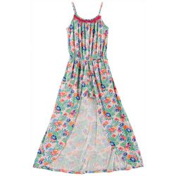 Love @ First Sight Big Girls Floral Walkthrough Romper