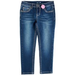 Seven 7 Big Girls Sequined Skinny Ankle Jeans