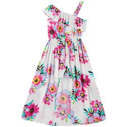 RMLA Big Girls Floral Walkthrough Dress