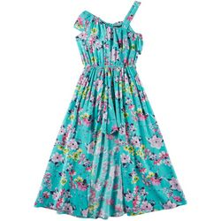 RMLA Big Girls Floral Ruffle Sleeveless Walkthroug