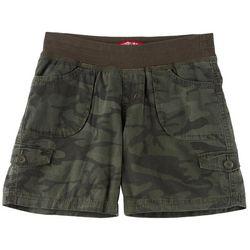 Unionbay Big Girls Camo Print Macky Convertible Midi Shorts