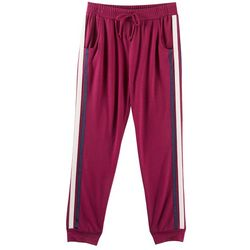 Amy Byer Big Girls Sport Stripe Jogger Pants