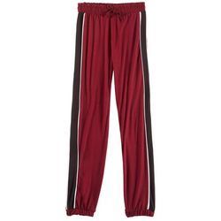 1st Kiss Big Girls Sport Stripe Jogger Pants