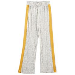 1st Kiss Big Girls Heathered Sport Stripe Active Pants