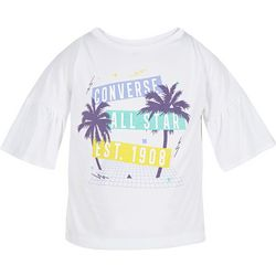 Converse Big Girls Palm Tree T-Shirt