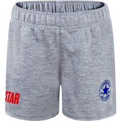 Converse Big Girls Solid All Star Logo Shorts
