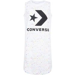 Converse Big Girls Paint Splatter Sleeveless Dress