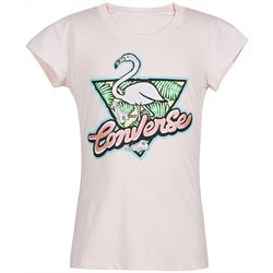 Converse Little Girls Retro Flamingo T-Shirt