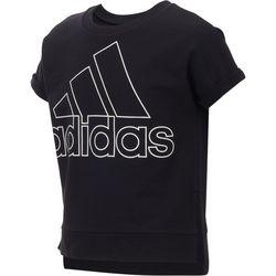 Adidas Big Girls Logo High-Low T-Shirt