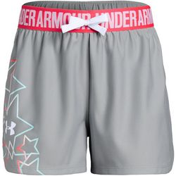 Under Armour Big Girls UA Americana Play Up Shorts