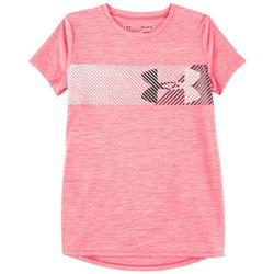 Under Armour Big Girls Hybrid Wave T-Shirt