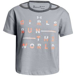 Under Armour Big Girls Girls Run The World T-Shirt