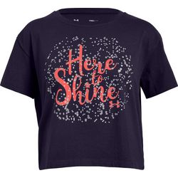 Under Armour Big Girls UA Here To Shine T-Shirt