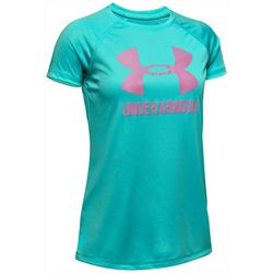 Under Armour Big Girls UA Big Logo Solid T-Shirt