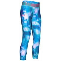 Under Armour Big Girls HeatGear Armour Tie Dye Leggings