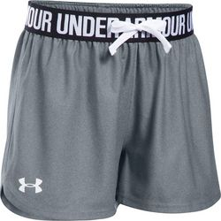 Under Armour Big Girls Play It Up Solid Shorts