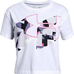 Under Armour Big Girls UA Print Fill T-Shirt