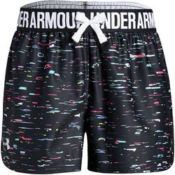 Under Armour Big Girls UA Play Up Static Shorts