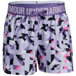 Under Armour Big Girls UA Play Up Digital Shorts