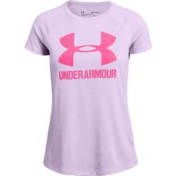 Under Armour Big Girls UA Big Logo Novelty T-Shirt