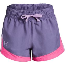Under Armour Big Girls UA Sprint Colorblocked Shorts