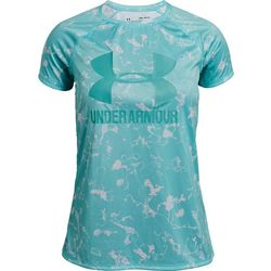 Under Armour Big Girls UA Big Logo Raglan T-Shirt
