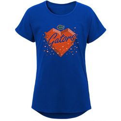 Florida Gators Big Girls Heart T-Shirt by Outerstuff