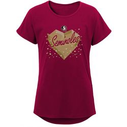 Florida State Big Girls Heart T-Shirt by Outerstuff