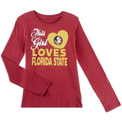 Florida State Big Girls Loves Florida State T-Shirt