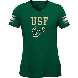 USF Bulls Big Girls Goal Line T-Shirt by Outerstuff
